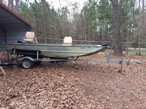 1999 Tracker 15 Foot Aluminum Boat located In SOUTH BIBB CO in Perry, Georgia