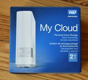 WD 2TB My Cloud Personal Network Attached Storage in Ramstein, Germany