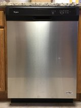 Brand New Whirlpool Stainless Steel Dishwasher in Algonquin, Illinois