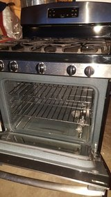 Stainless steel stove in El Paso, Texas