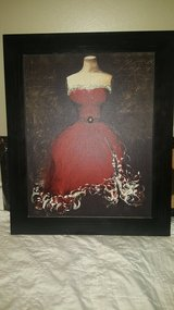 Dress canvas painting in Baytown, Texas
