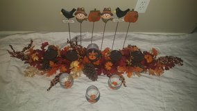 Fall decor set in Baytown, Texas