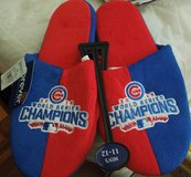 Chicago Cubs 2016 World Series Champion Slippers New w/ tags, size Mens X- large in Joliet, Illinois