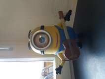 Minion Stuart interacts with Guitar in bookoo, US