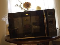 Emerson 1.2 cu ft Microwave with Grill, Black in Fort Benning, Georgia