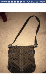 Real Coach crossbody in Hinesville, Georgia