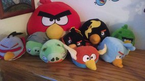 Angry Birds plush stuffed animals toys in 29 Palms, California