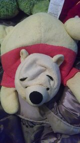 Beaded plush Winnie the Pooh travel pillow in 29 Palms, California