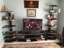 3-Piece TV Stand & 2 Tower E-System in Wright-Patterson AFB, Ohio