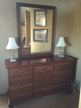 Solid Cherry Dresser in Ramstein, Germany