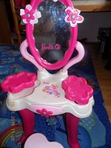 Barbie night stand with mirror and a heart stool in Hohenfels, Germany