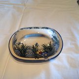 Polish Pottery Butter Dish in Ramstein, Germany
