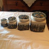 Polish Pottery Canister Set (4 pieces) in Ramstein, Germany
