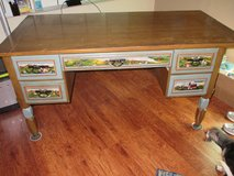 Old Hand Painted Desk in Alamogordo, New Mexico