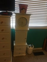 clock storage cabinet in Naperville, Illinois