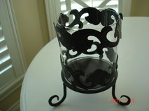 Glass and Metal Candleholder in Kingwood, Texas