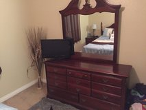 Bedroom set in Temecula, California