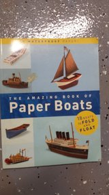 The amazing book of paper boats in New Lenox, Illinois