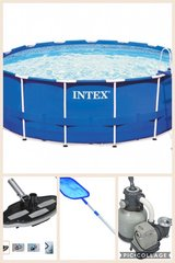 "15' x 48"" Intex Pool with accessories in Waldorf, Maryland"