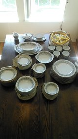 Vintage 97 piece Florentine fine China by Sango Japan in Beaufort, South Carolina