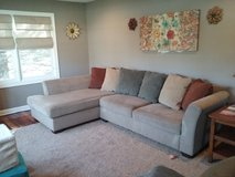 L shaped couch in Great Lakes, Illinois