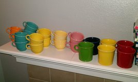 fiestaware ring mugs plus cups in Fort Carson, Colorado