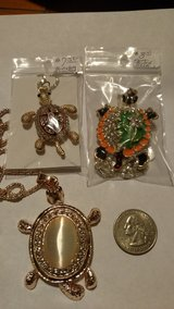 Turtle Necklaces Gold 3 Varieties in 29 Palms, California