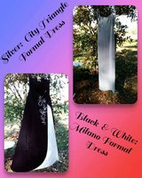 2 formal dresses in great condition in Leesville, Louisiana