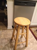 Two Wooden stools in Camp Pendleton, California