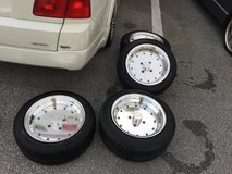 15in SSR MK-1 wheels and tires in Okinawa, Japan