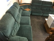 Ashley sectional sofa with queen pull out bed in Warner Robins, Georgia