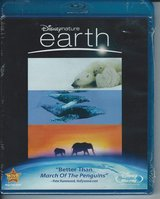 Disney Nature Earth Blu-Ray Unopened Brand New $10 in Cherry Point, North Carolina