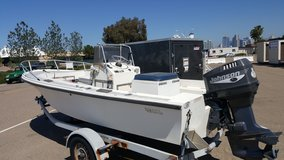 Classic 1976 mako fishing/power boat in Camp Pendleton, California