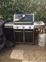 Weber Genesis E-310 Black with Cover - used one season in bookoo, US