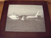 Framed Photo of Howard Hughes H 4 Spruce Goose in Mountain Home, Idaho