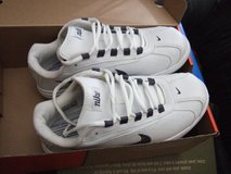 Nike women's shake it retro white athletic/tennis shoes size 8 in Sacramento, California
