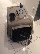 Pet Carrier and accessories (used once) in Ramstein, Germany