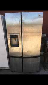 Lg side-by-side refrigerator in 29 Palms, California