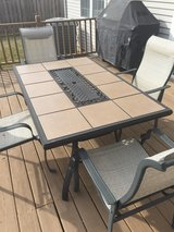 Outdoor patio table in Naperville, Illinois