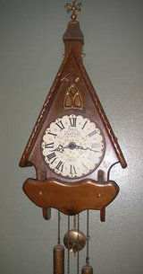 1960's New England Clock, Chalet 8 Wall Clock in San Clemente, California