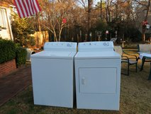 Washer and Dryer Frigidaire-Giant tub-3 Months guarantee in Byron, Georgia