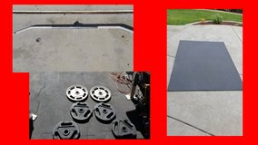 Gym grade olympic weights for workout withyour equipment in Temecula, California