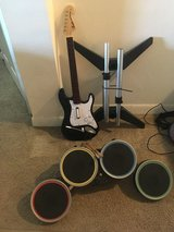 Electric guitars and drums in San Diego, California