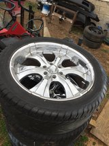 """22"""" wheels with tires, Ford 6 lugs in Clarksville, Tennessee"""