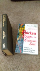 2 Chicken Soup For The Souls Books in Lawton, Oklahoma