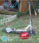 Razor e-spark scooter w\helmet in Macon, Georgia