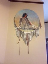 REDUCED Indian Maiden Painting by Ernie Lee Miller in Alamogordo, New Mexico
