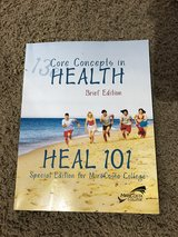 Health 101 textbook in Vista, California