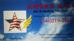 AMERA AIR A/C & HEATING SERVICES in Houston, Texas