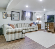 Sectional pull out couch in Bolingbrook, Illinois